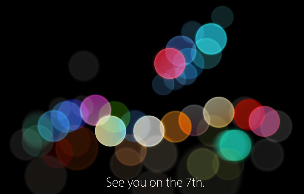 【Apple】「See you on the 7th.」2016年9月7日にスペシャルイベント開催へ