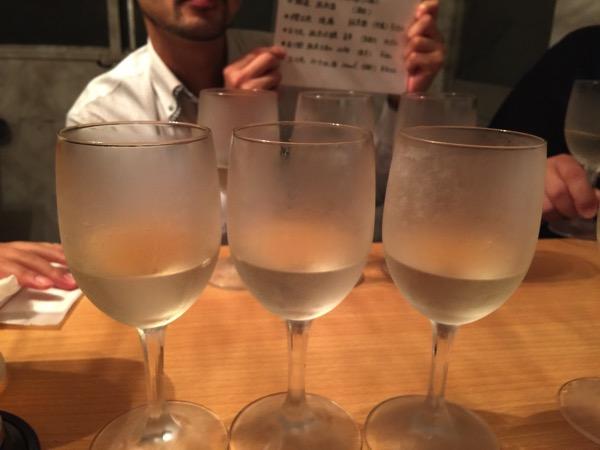 「角打 新井商店(浦和)」味噌を使った料理が名物!日本酒飲み比べセットは600円とリーズナブル