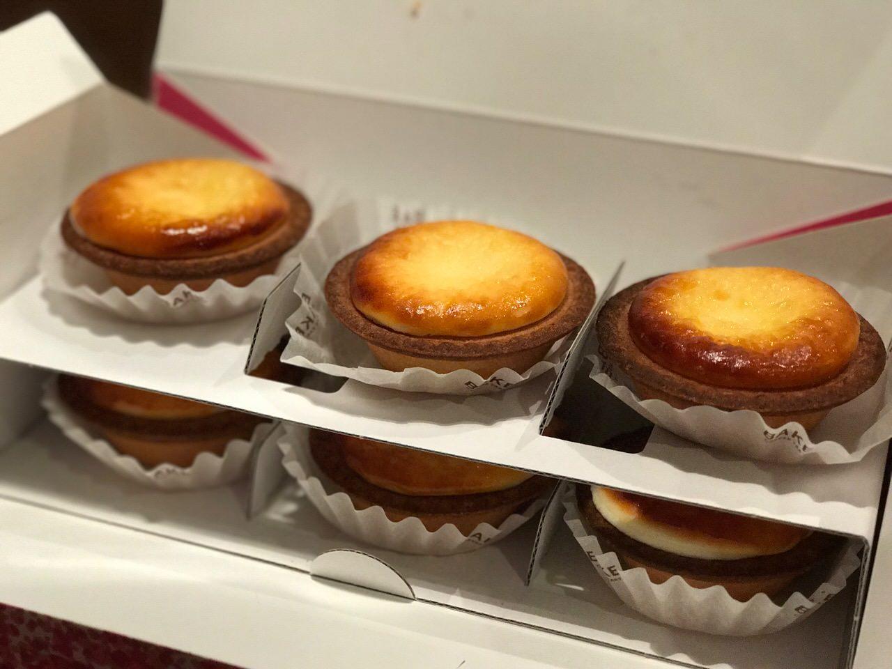 「BAKE(ベイク)」北海道発の焼き立てチーズタルトがこんなに美味かったとは
