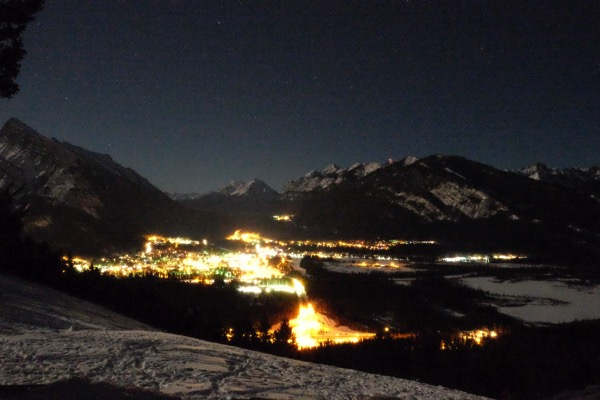 Banff night sky 3818