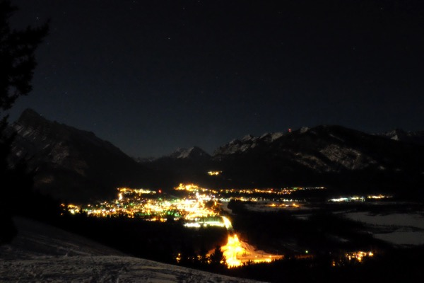 Banff night sky 3819