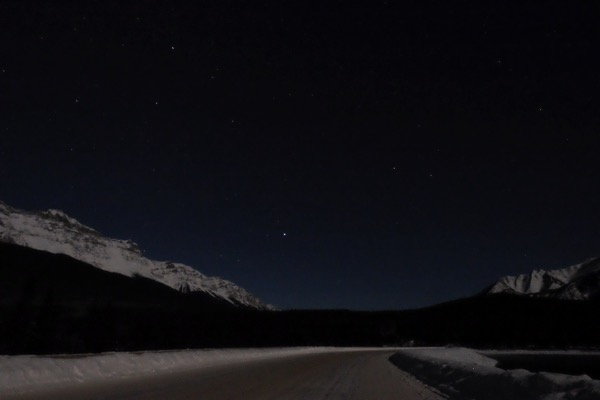 Banff night sky 3833