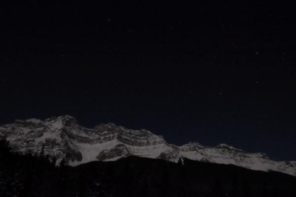 FUJIFILM X-T10で人生初(!)の夜景と星空の長時間露光撮影をしてみた #アルバータの冬