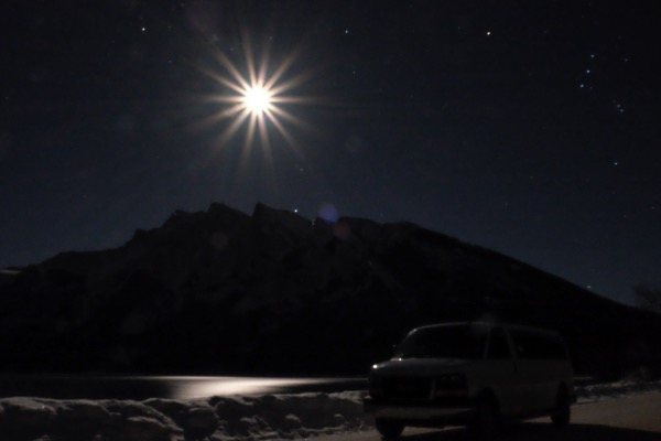 Banff night sky 3836