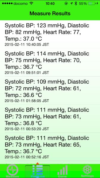Blood pressure app 8434