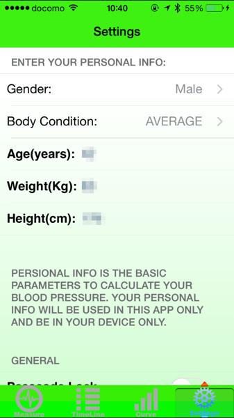 Blood pressure app 8437