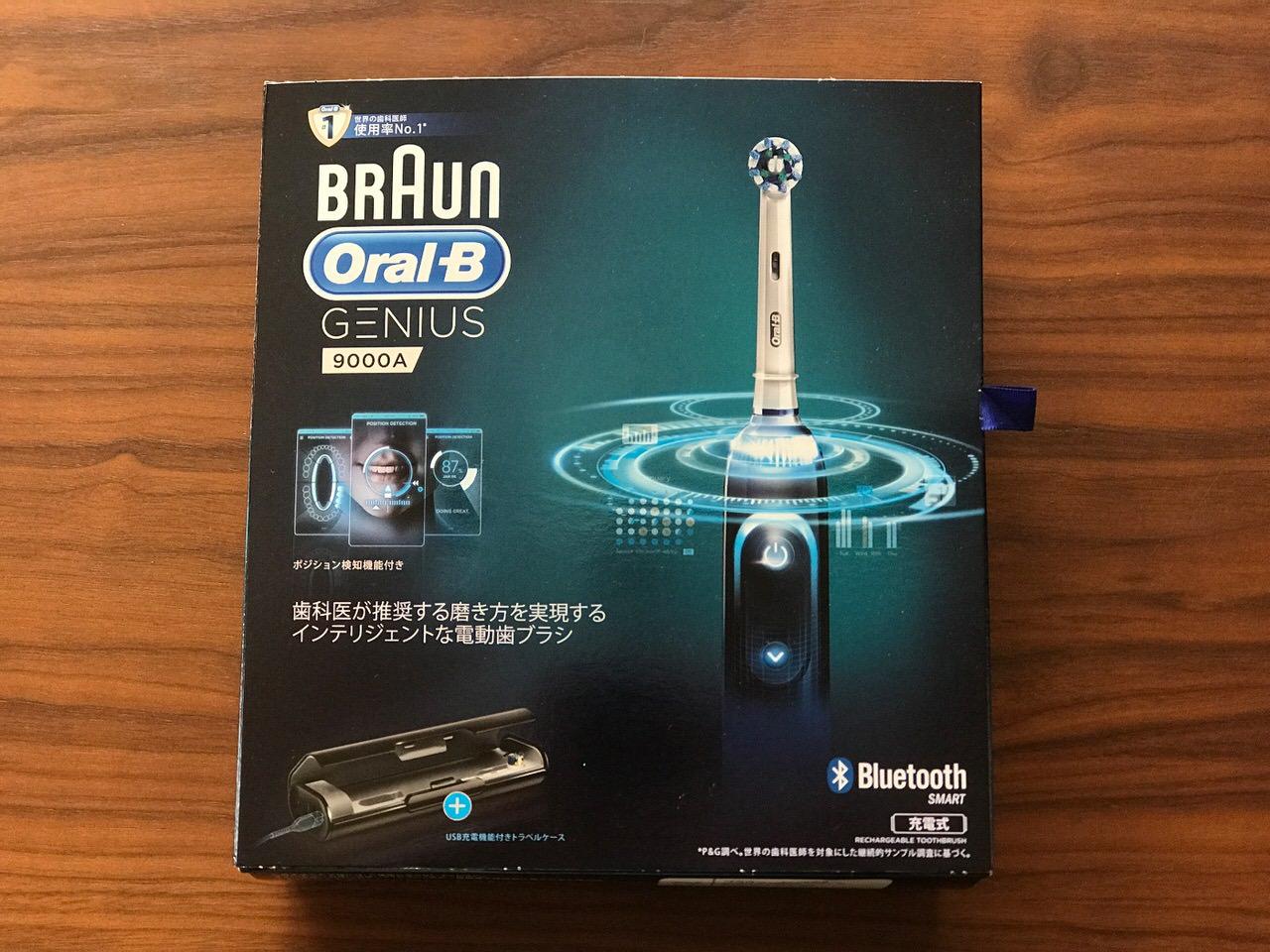 Braun oral b genius 9000a 0129