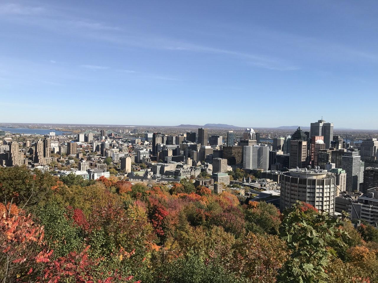 【モントリオール観光】秋の紅葉散策で1日街歩き #GoMedia2016