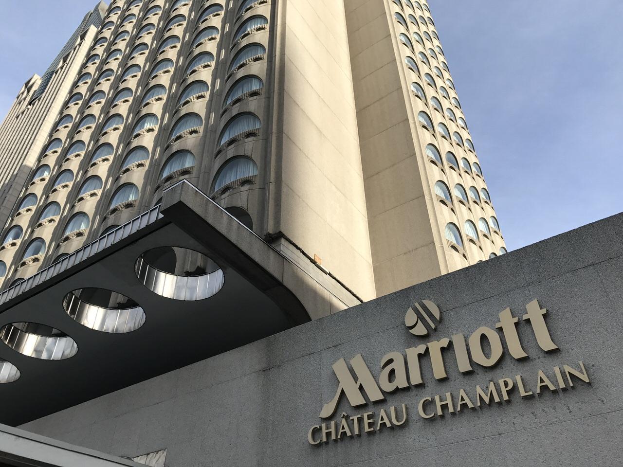 「マリオット・シャトー・シャンプレン」モントリオールのホテル #GoMedia2016