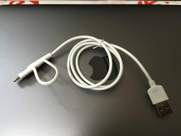 Cheero 2in1 cable 4664
