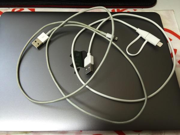 Cheero 2in1 cable 4667