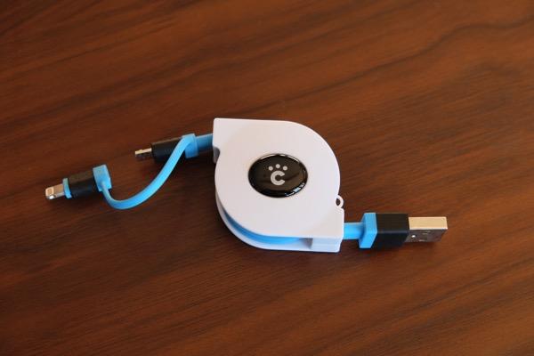 Cheero retractable cable 4371