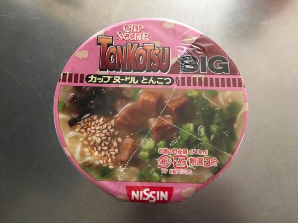 Cup noodle tonkotsu 4671