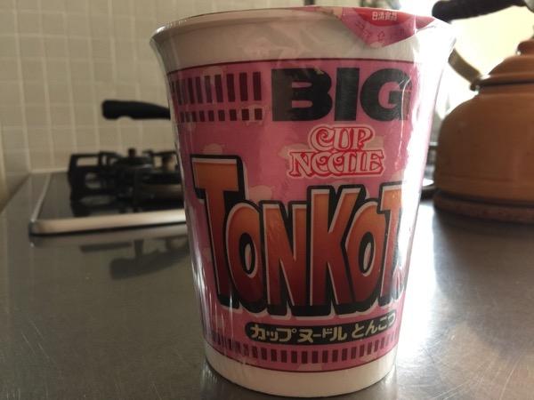 Cup noodle tonkotsu 4672