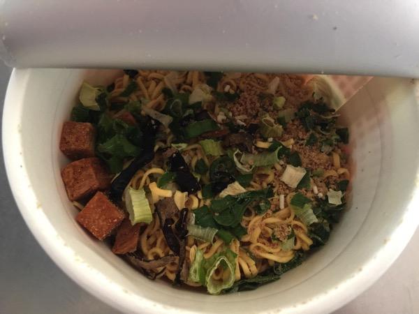 Cup noodle tonkotsu 4674