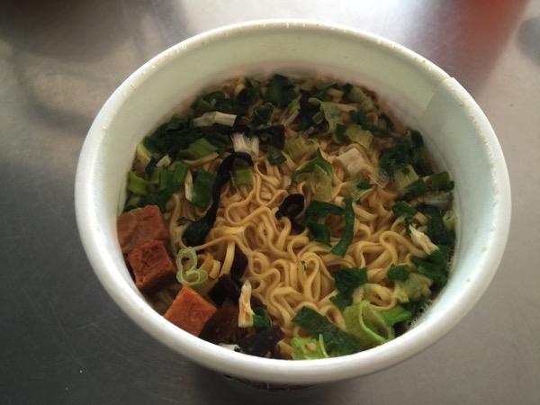 Cup noodle tonkotsu 4675