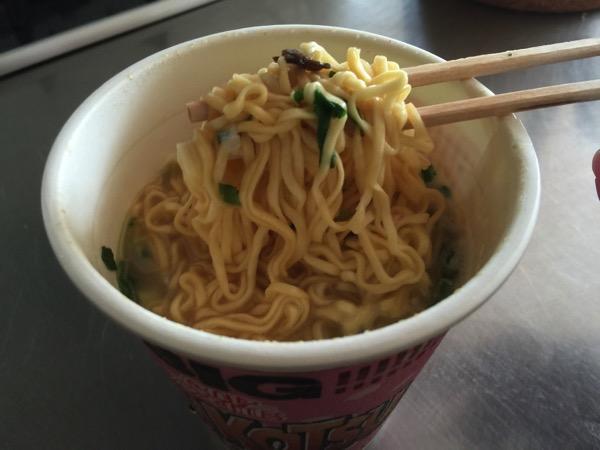 Cup noodle tonkotsu 4677