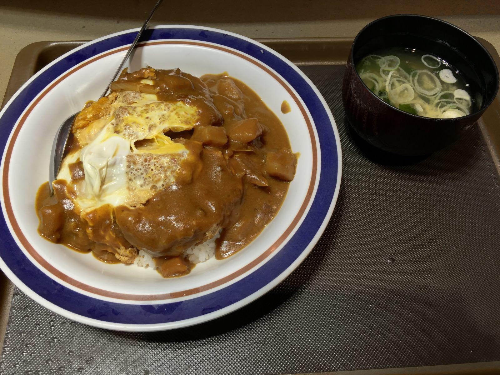 カツカレーじゃない。カレーとカツ丼が出会ってしまった!富士そばで「カレーカツ丼」を食べた