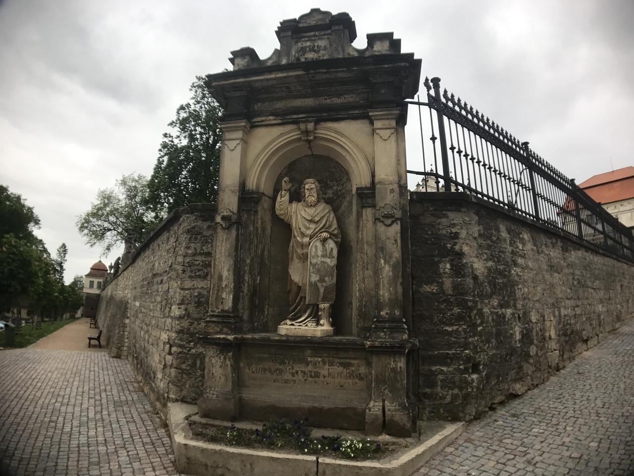 Czech tour 1785