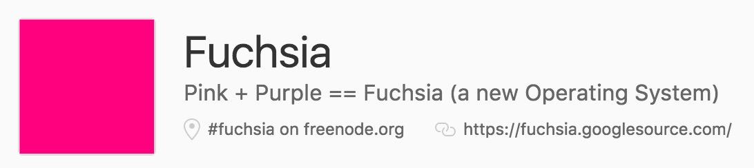 Google fuchsia 1046