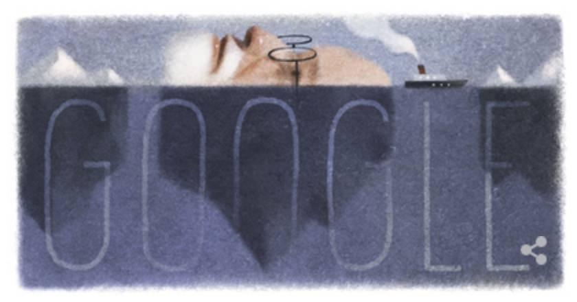 Googleロゴ「ジークムント フロイト」に 〜オーストリアの心理学者