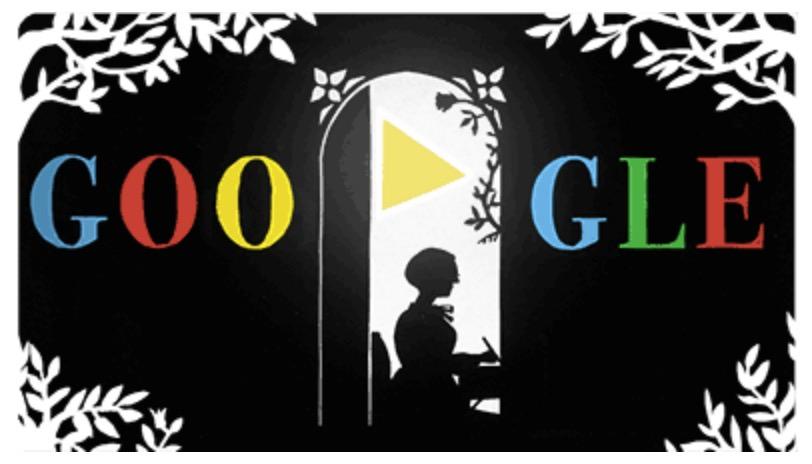 Googleロゴ「ロッテ ライニガー(Lotte Reiniger)」に(影絵作家)