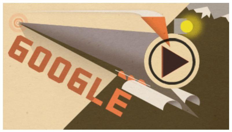 Googleロゴ「シベリア鉄道」に(完成100周年)