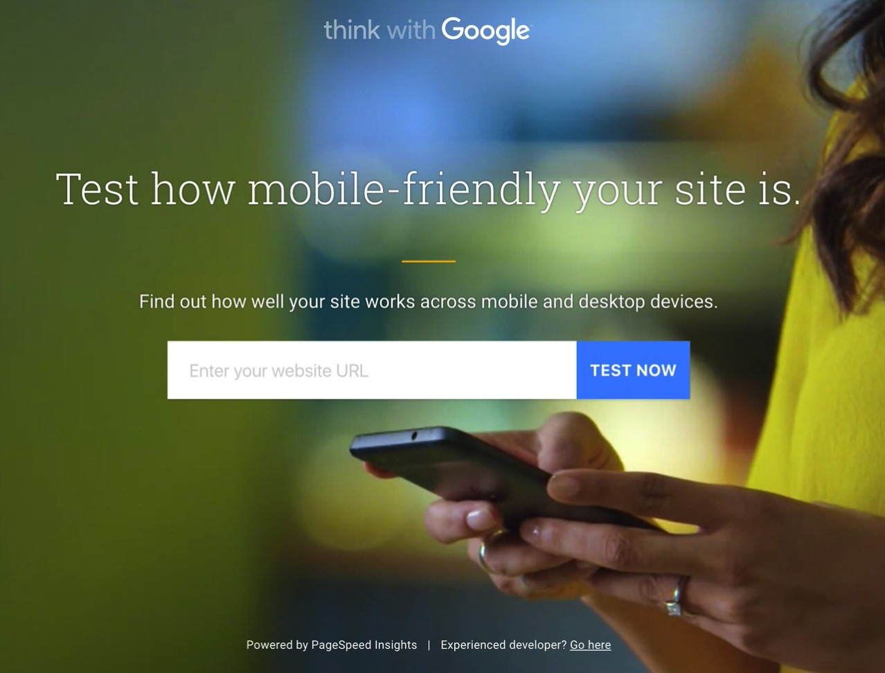 一回やっとこう!URLの入力でモバイル対応度が分かるGoogleのテストサイト「Mobile Website Speed Testing Tool」