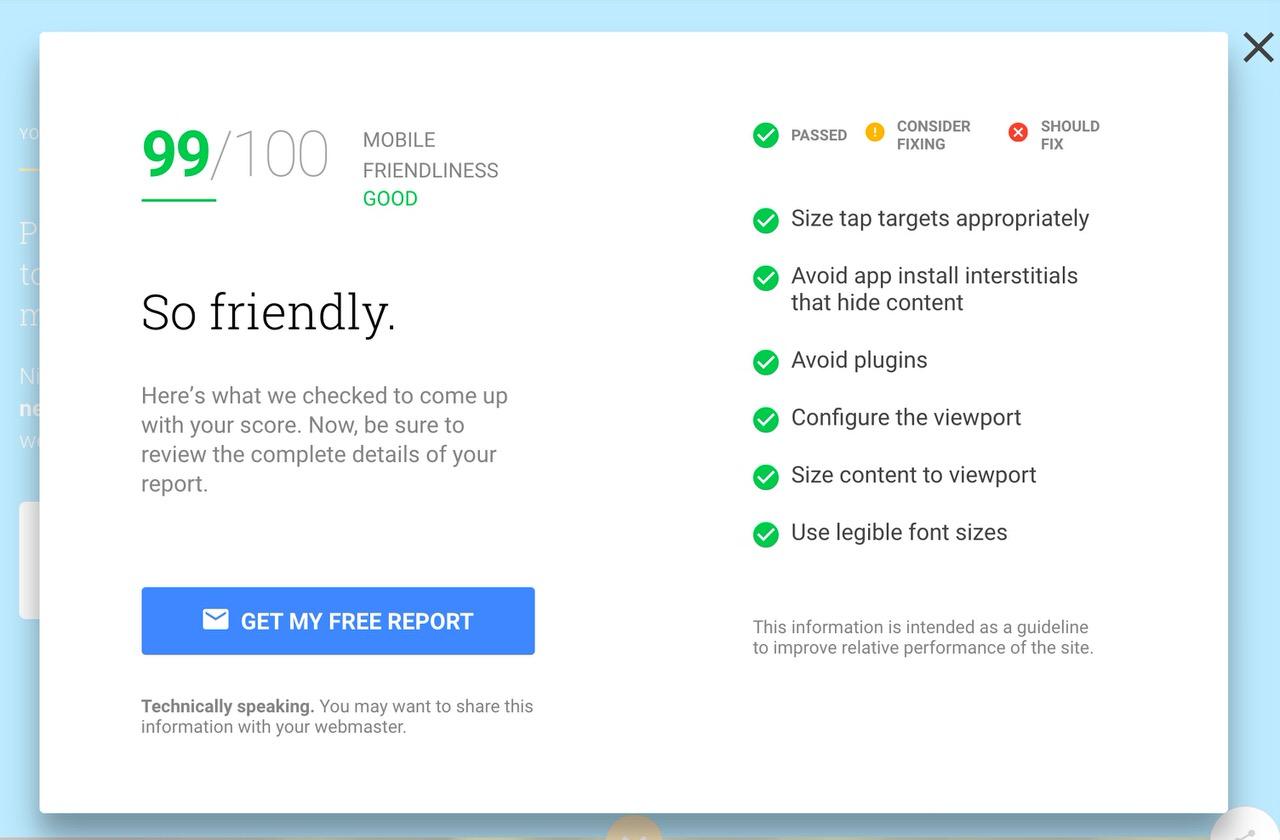 Google website test 1126