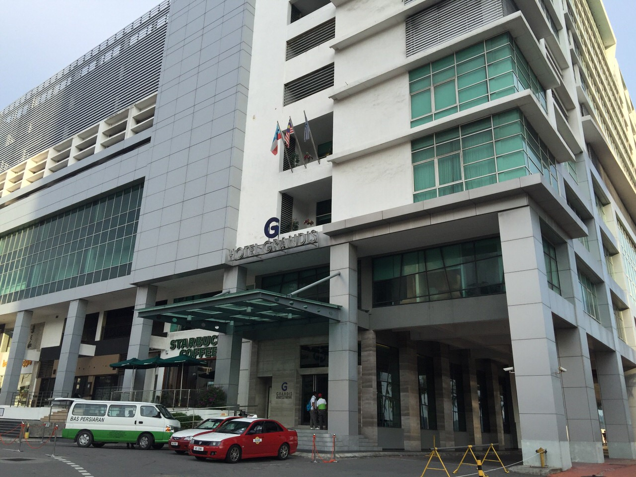 「Hotel Grandis(ホテルグランディス)」コタキナバルの中心街にあるショッピングモール直結のキレイなホテル #マレーシア #サバ州