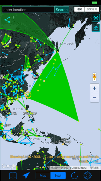 【Ingress】「Operation Midgard」目が覚めたら森だった!日本全土が緑のCFで覆われる → 起点は樺太・台湾・ミクロネシア