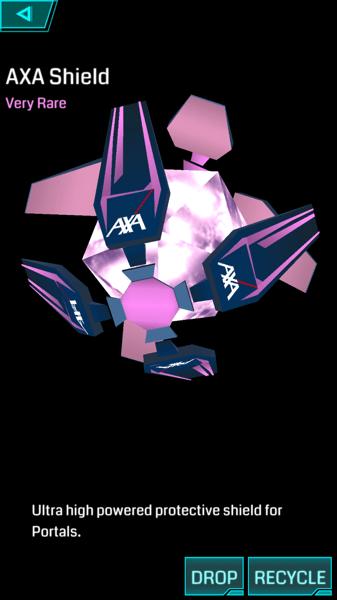 【Ingress】シールドの仕様が変更される「AXAシールド」が剥がれにくくなる?