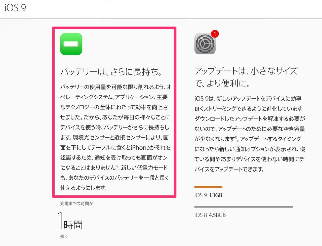 【iOS 9】画面を下にして置くとバッテリーが長持ち「フェイスダウン」モード