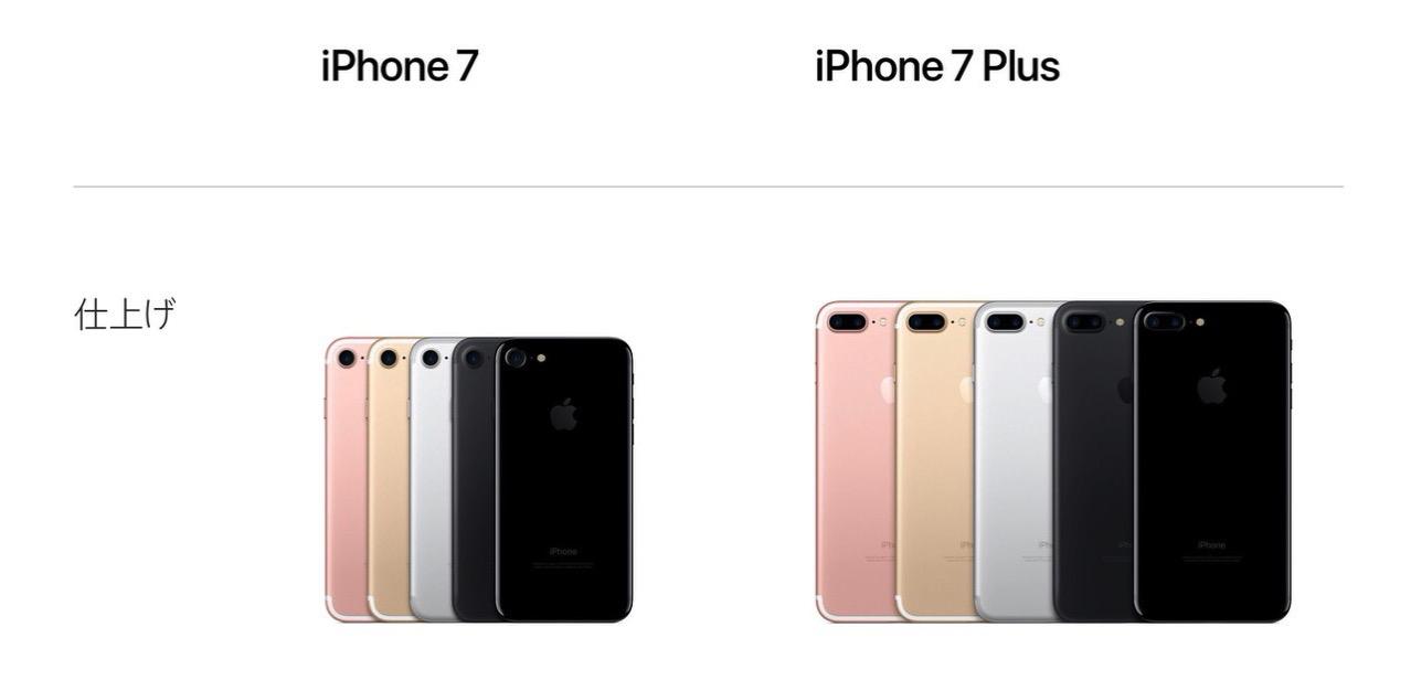 「iPhone 7/7 Plus」バッテリーとメモリーの容量が明らかに