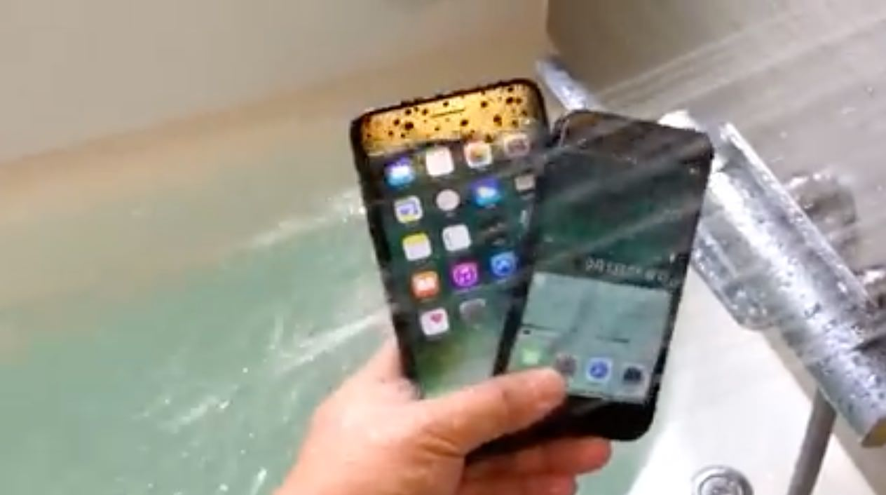 Iphone 7 water 0804