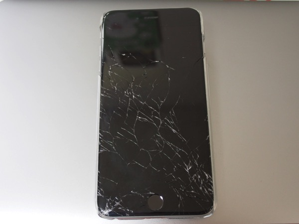 「iPhone 6 Plus」液晶画面を割ったので修理!急いでいたので浦和の修理店を探しました