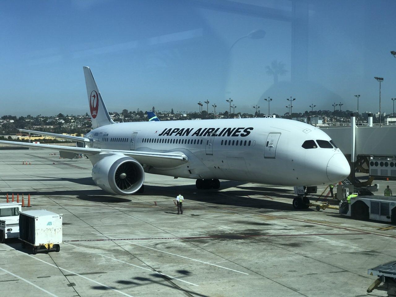 【JAL】サンディエゴ空港から成田空港へ【JL66】 #AdobeMAX