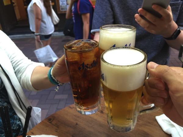 上野で立ち飲み「カドクラ」2