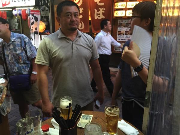 上野で立ち飲み「カドクラ」3