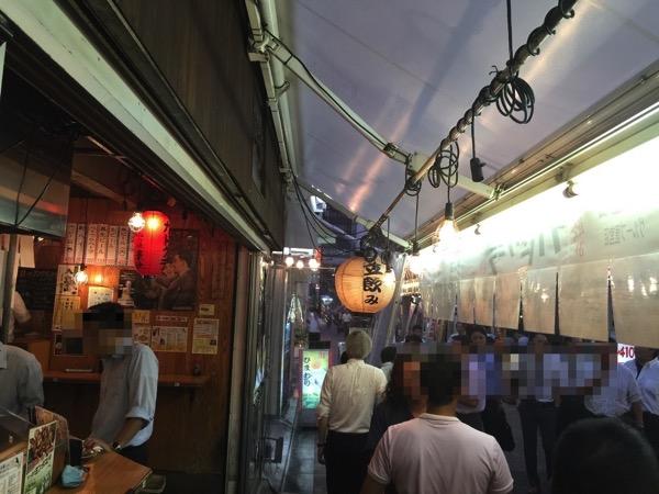 「立飲み カドクラ(上野)」暑い日の待ち合わせは立ち呑みしながら待ちたい