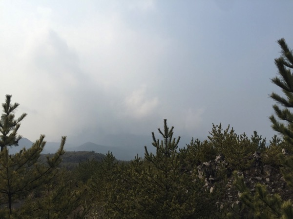 「黒神ビュースポット」桜島の昭和火口が目の前!火山の鳴動が聞こえる驚愕スポット