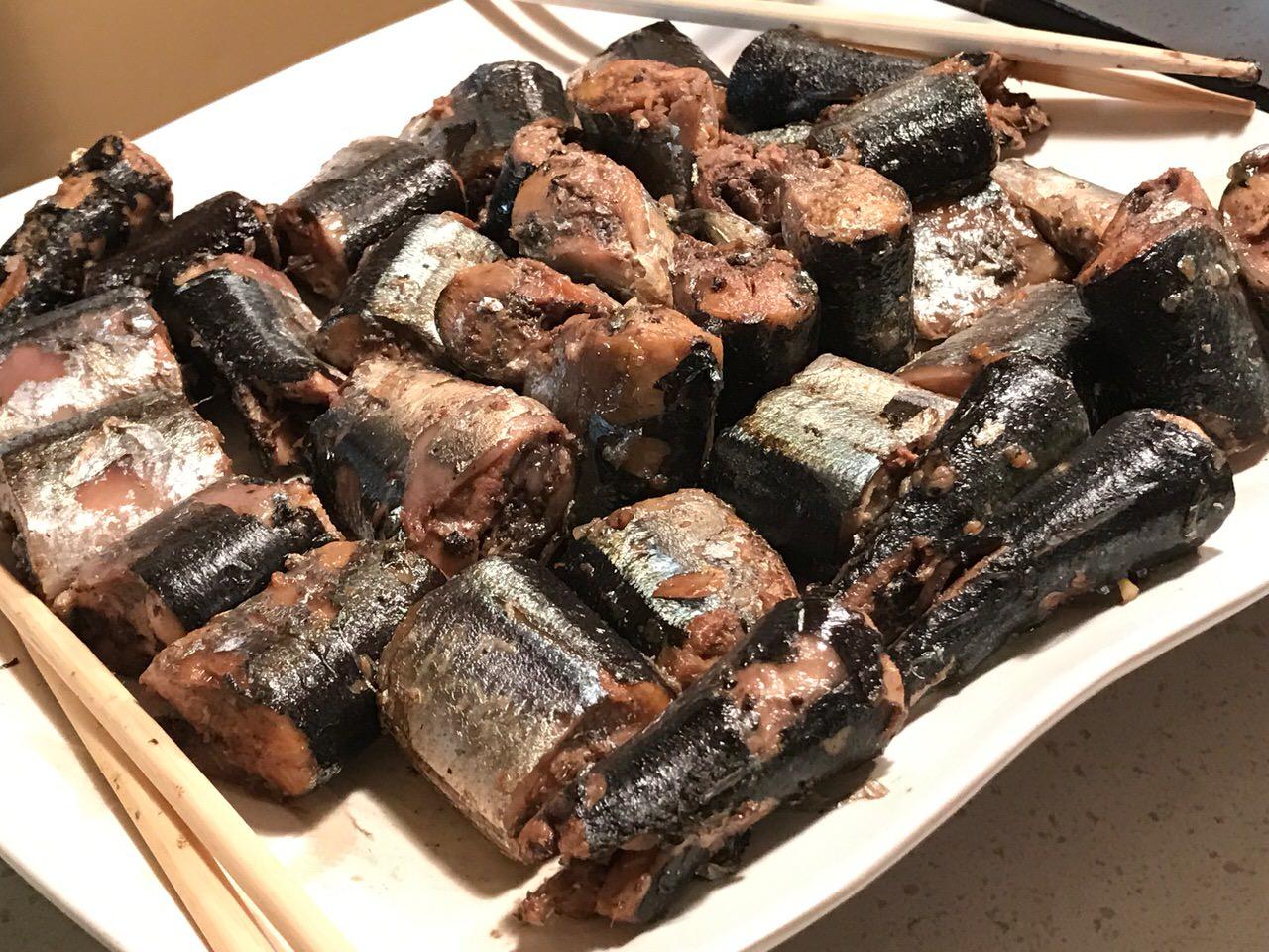 「かすみ亭(新橋)」さんま祭開催!ぷりぷりの旬の秋刀魚を刺身で、煮て、焼いて。