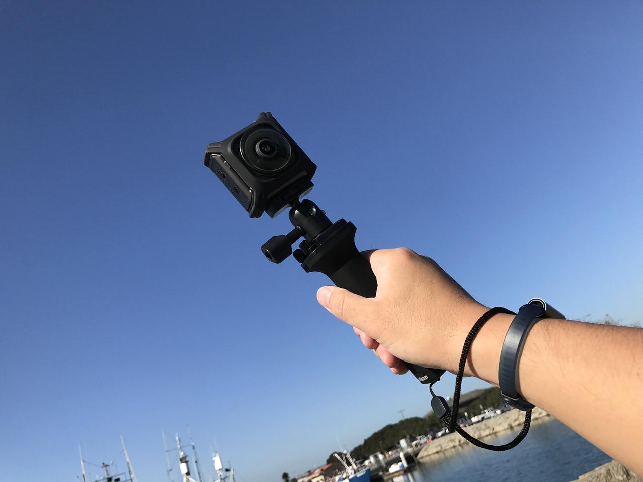 雨!風!温泉!エクストリームな環境で4Kの高画質な360度撮影を可能にする「KeyMission 360」【AD】 #KeyMission360 #PR