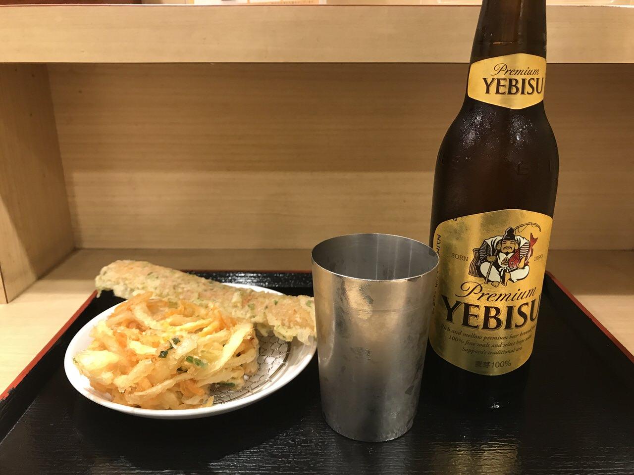 浦和駅の駅ナカでチョイ呑みできる「生蕎麦 いろり庵きらく」