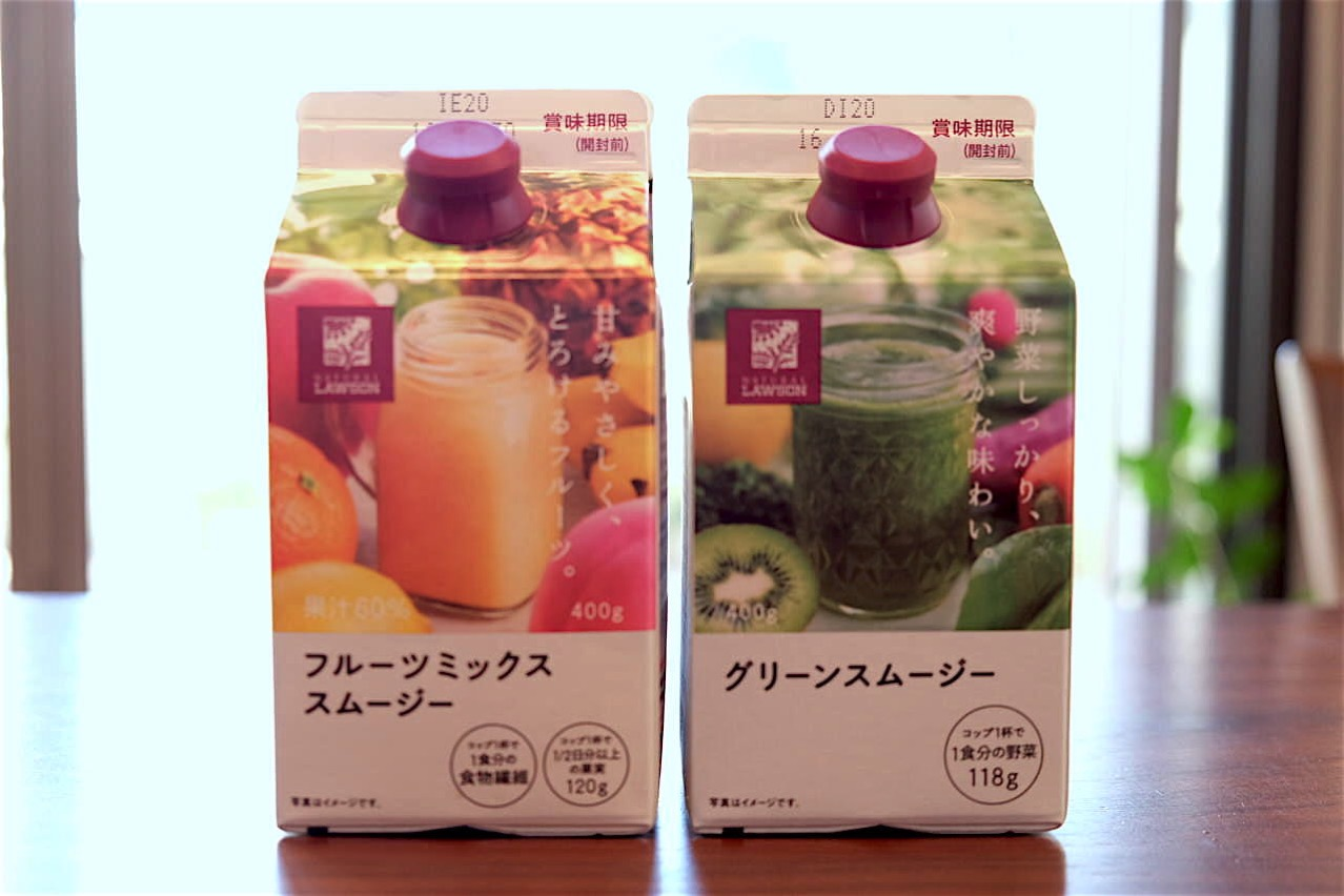 Lawson fruits mix smoothie 72602