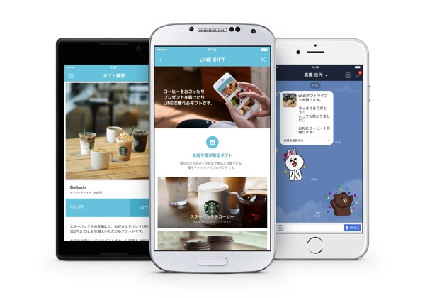 【LINE】「LINEギフト」LINEアプリから商品の購入・プレゼントが可能に