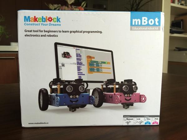 「mBot」組み立ててプログラミングを学べるArduinoベースの子ども向け低価格ロボットキット