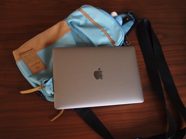 【MacBook】ひらくPCバッグとボディバッグに入れてみた