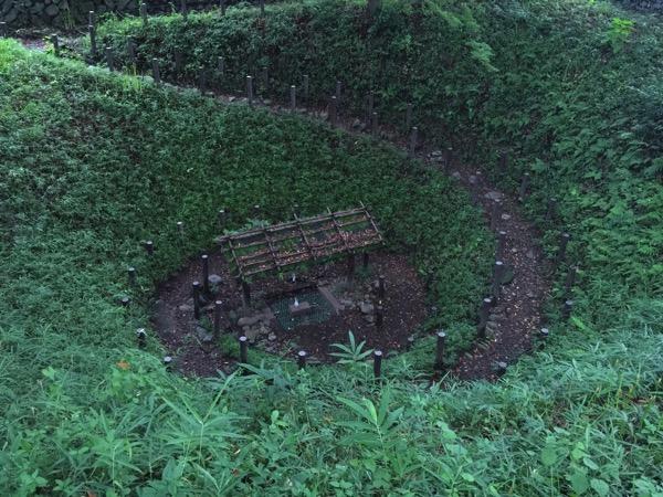 「五ノ神まいまいず井戸」鎌倉時代に創建されたと推定されている螺旋状に掘られたかたつむり状の井戸(羽村) #tokyo島旅山旅