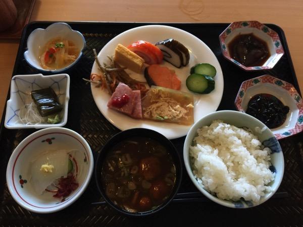 「富山マンテンホテル」ホテルからの眺望と朝食バイキングがオススメ #富山プレスツアー